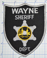 WEST VIRGINIA, WAYNE COUNTY SHERIFF'S OFFICE PATCH
