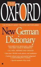 The Oxford New German Dictionary : German-English/English-German,...