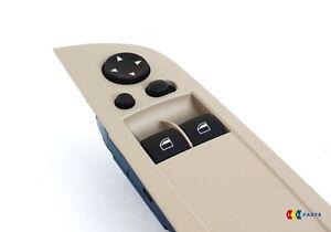 BMW Neuf Véritable 3 E92 Fenêtre Avant Levier Montage Interrupteur LHD Beige