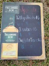 Tullamore Dew Irish Whiskey Heavy Metal Chalkboard Sign 25x18