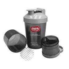 Best Body Eiweiß Shaker Protein Creatin Shaker Mixer US Bottle 600 ml schwarz