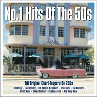 NO 1 HITS OF THE 50S 50 UPLIFTING SOUNDS DER 50ER UND 60ER JAHRE Elvis 2 CD NEU