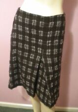 Plaids & Checks Knee-Length Woolen Dry-clean Only Skirts for Women
