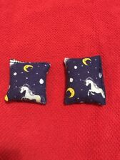 Cherry Pit Pocket Warmers, sets of two, children's size, hand/leg warmers, stars