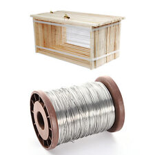 Useful 80M Stainless Steel Bee Hive Frame Wax Foundation Wire Bee Keeping Tool