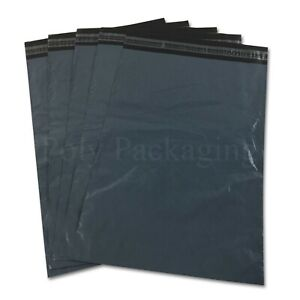 """50 x GREY Mailing Bags 9x12""""(230x300mm) Royal Mail LARGE LETTER Size A4 Value"""