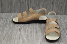 Propet Breeze Walker W0001 Nubuck Sport Sandals, Women's Size 9-2E, Taupe NEW