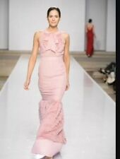 VALENTINO Pink Blush EVENING GOWN Dress Stunning AUTHENTIC SIZE 4