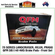 QFM DB1149 4WD suit 70 SERIES LANDCRUISER HILUX PRADO BRAKE PADS FRONT SET PAIR