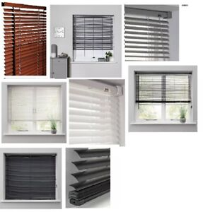 TRENDI PVC VENETIAN BLINDS EASY FIT TRIMABLE HOME OFFICE WINDOW VENETIAN BLIND