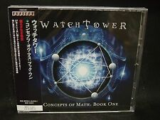 WATCHTOWER Concepts Of Math: Book One JAPAN CD Spastic Ink Gordian Knot Hades