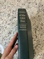 A Man named by Peter Catherine Marshall Book Published 1951 Hardcover Vintage