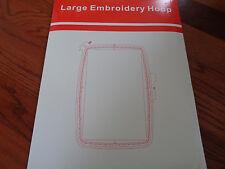 "Large Embroidery Hoop Husqvarna Viking Designer I/II/SE,Quilt II 9.6""x6"""