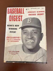 September 1955 Baseball Digest