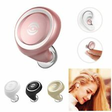 Invisible Mini Bluetooth Wireless Headset Music Earphone Earbud for iOS Android
