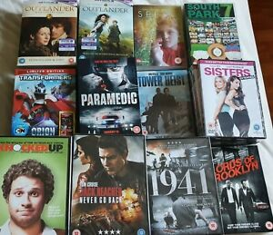 Brand NEW and SEALED Action / Comedy DVD's FROM £1.89 * FREE SHIP*