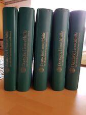 Briefmarkenalben Deutsche Umwelthilfe 5 Alben