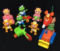 Sesame Street Henson Animal Muppets Characters Cars  & Figures lot of 11 pcs