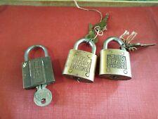 Lot de 3 cadenas anciens