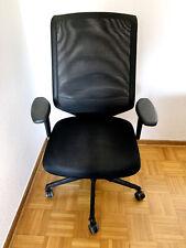 Vitra Meda Pro ergonomischer Bürostuhl Drehstuhl schwarz - Topzustand