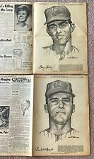 1969 NY Mets 7 Stark Players & Complete October 17th Daily News