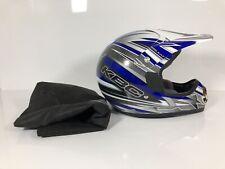 KBC TK-X5 KAT Blue/silver L 59-60 cm MOTORCYCLE Off-Road Helmet