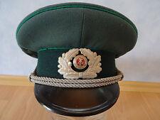 DDR Schirmmütze Polizeimütze police hat casquette gorra policía berretto polizia