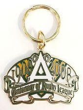 33452 AUSTRALIAN RUGBY LEAGUE ARL NRL CENTENARY 1908-2008 METAL KEY RING KEYRING