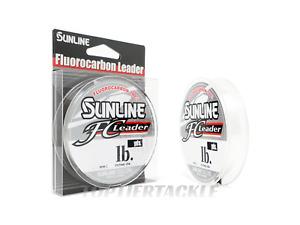 Sunline FC Leader Fluorocarbon Fishing Line 50/150yd - Select Lb. Test - Length