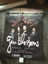 Gin Blossoms 2017 New York Concert Tour Poster Signed By All Members Of Band