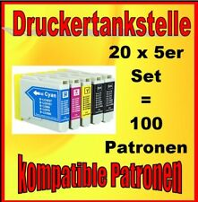 100x Patronen für Brother LC-970 LC-1000 DCP-130 135 150 153 157 330 350 357 520