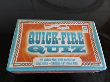 Quick Fire Quiz