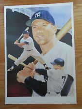 Christopher Paluso's Art of Sports Greats MICKEY MANTLE Photo NEW YORK YANKEES