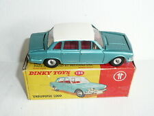Dinky Toys 135 Triumph 2000 NrMint Boxed  *original*