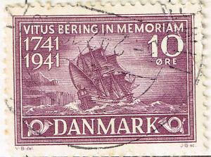 Denmark Famous Explorer Vitus Bering Discovery of Alaska stamp 1941
