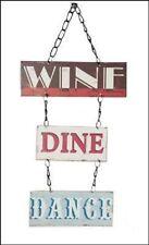 Plaque - Wine Dine Dance