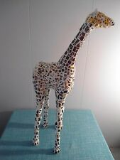 "29"" tall Sculpted & Mosaicked Giraffe / Direct From Artist / Mosaic /Mixed Media"
