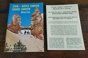 NM Zion, Bryce & Grand Canyon National Parks Union Pacific Railroad Travel Guide