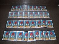 Lot of 33 1991 Upper Deck Chipper Jones #55 Rookie Cards Hall Of Fame HOF