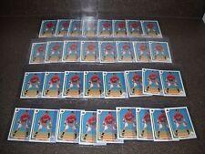 Lot of 33 1991 Upper Deck Chipper Jones #55 Rookie Cards Hall Of Fame HOF
