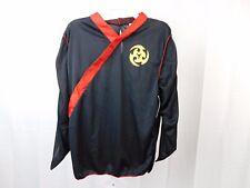 Classic Red Ninja Boy's Halloween Costume Top Only Child Size 8-10 Medium #5545