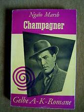 """""""champán"""" de Edith Ngaio Marsh (1955)"""
