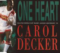 Carol Decker – One Heart. CD Single