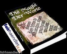 ★DIE MAGIE DER WORTE EBOOK WORTMAGIE ESOTERIK PDF FREUDE RITUALE GLÜCK E-LIZENZ