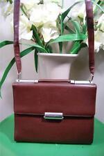 Mandarina Duck brown briefcase shoulder bag   (P100)