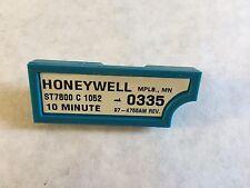 HONEYWELL ST7800C1052,10 MINUTE Purge Timer BURNER