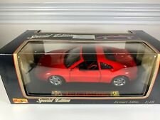 MAISTO SPECIAL EDITION 1990 FERRARI 348TS COUPE RED 1/18