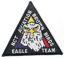 NCT Aviation Eagle Team Brown Birds patch Air Force NEW
