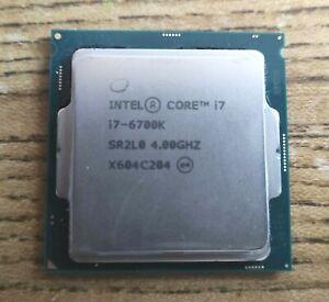 Intel Core i7 6700K 6700 K Processor CPU 4.0 GHz LGA1151 RETAIL *FULLY WORKING*