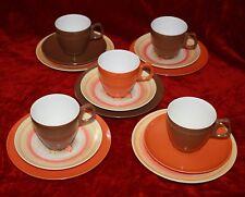 retro vintage HOLLYWOOD TAMCO Aust bessemer ish 15pce tea set cup saucer plate